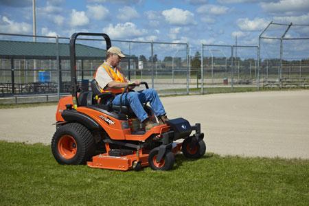 mowing-ballfield