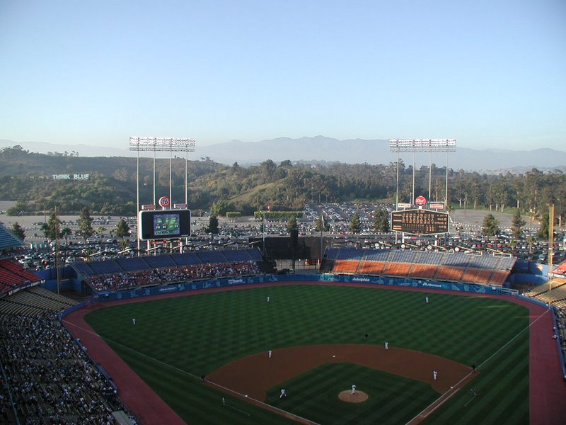 La dodgers stadium for Dodger stadium wall mural
